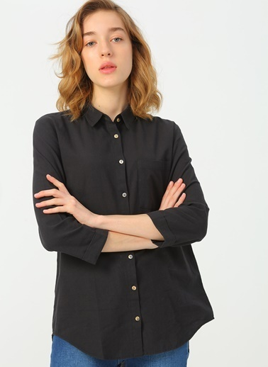 Fashion Friends Gömlek Siyah